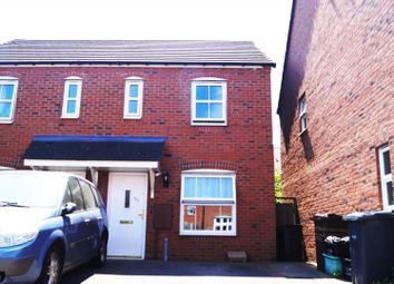 Thumbnail 2 bed semi-detached house to rent in Wharf Lane, Solihull