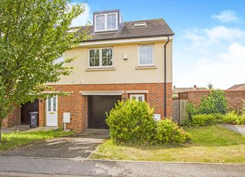 Thumbnail 3 bed property for sale in Woodleigh Close, Leicester