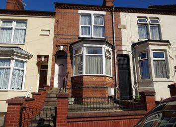 Thumbnail 3 bed terraced house for sale in Mere Road, Spinney Hill, Leicester