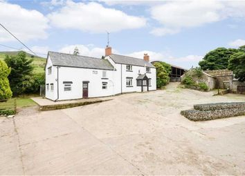 Thumbnail 4 bed farmhouse for sale in Bryneglwys, Corwen
