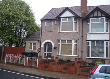 Thumbnail 4 bed terraced house to rent in Max Road, Coventry