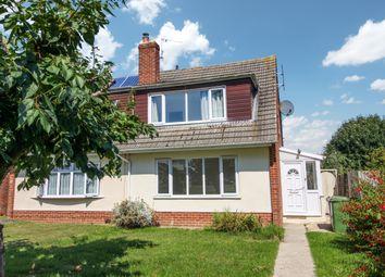 Norris Close, Chiseldon, Swindon SN4. 3 bed semi-detached house