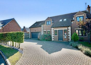 Thumbnail 5 bed detached house for sale in St. Giles Close, Holme, Cambridgeshire.