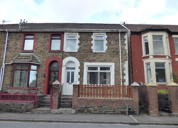 Thumbnail 3 bed end terrace house for sale in Victoria Street, Pontycymmer, Bridgend