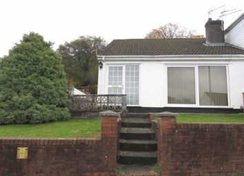 Thumbnail 2 bed semi-detached bungalow to rent in Moorland Heights, Pontypridd