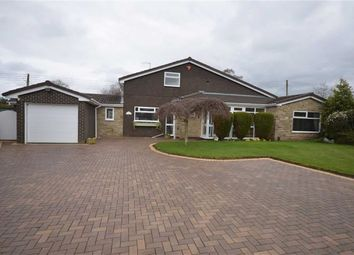 Thumbnail 4 bed detached bungalow for sale in Parkfields Close, Barlaston, Stoke-On-Trent