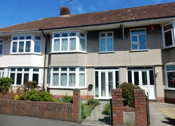 Thumbnail 3 bed terraced house for sale in Stoneleigh Crescent, Knowle, Bristol