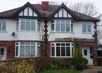 Thumbnail 3 bed semi-detached house to rent in Sandringham Crescent, Wollaton, Nottingham