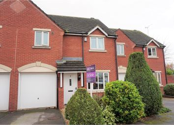 Thumbnail 3 bed terraced house for sale in Cottage Close, Northwich