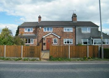 Thumbnail 4 bed semi-detached house for sale in Marston Lane, Marston, Northwich, Cheshire