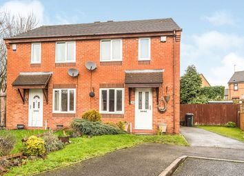 Thumbnail 2 bed semi-detached house to rent in Daffodil Close, Dudley
