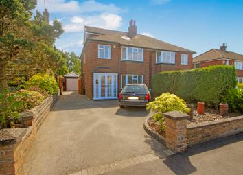 Thumbnail 4 bed semi-detached house for sale in Heath Avenue, Werrington, Stoke-On-Trent
