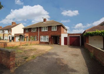 Thumbnail 3 bed semi-detached house for sale in Mile Road, Elstow, Bedford