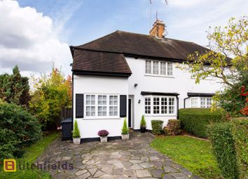 3 bed semi-detached house for sale in Hill Rise, Hampstead Garden Suburb NW11