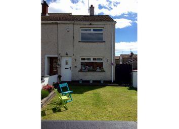 Thumbnail 3 bed end terrace house for sale in Westlands, Crossgar, Downpatrick