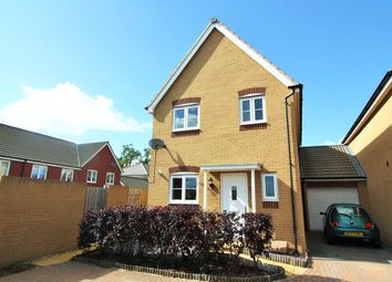 Thumbnail 3 bed link-detached house to rent in Resolution Road, Exeter