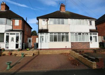 Thumbnail 3 bed semi-detached house for sale in Blythsford Road, Hall Green, Birmingham