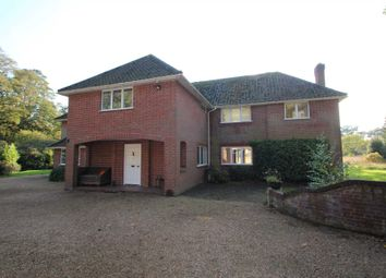 Thumbnail 5 bed detached house for sale in Wroxham Road, Rackheath, Norwich