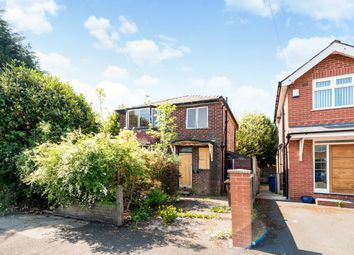 Thumbnail 3 bedroom detached house for sale in Holyrood Road, Prestwich