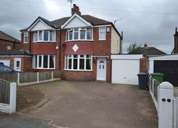 Thumbnail 2 bed semi-detached house for sale in Malpas Drive, Great Sankey, Warrington
