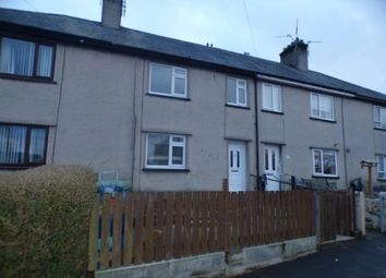 Thumbnail 3 bed terraced house for sale in Ty'n Rhos, Criccieth, Gwynedd