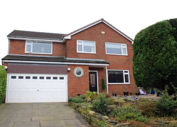 Thumbnail 4 bedroom detached house for sale in Milverton Close, Lostock, Bolton