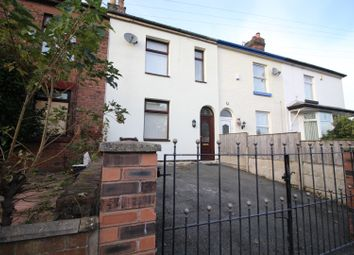 Thumbnail 4 bed terraced house for sale in Carr Terrace, Prescot, Merseyside