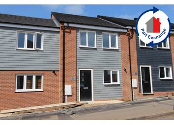Thumbnail 3 bed terraced house for sale in Castle View, Brook Street East, Wellingborough