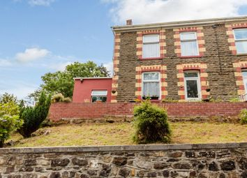 Thumbnail 3 bedroom semi-detached house for sale in Caerbont, Ystradgynlais, Swansea.