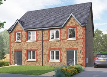 "Thumbnail 3 bed semi-detached house for sale in ""The Kilmington"" at Boroughbridge Road, Knaresborough"