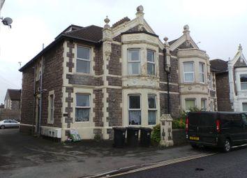 Thumbnail 1 bedroom flat to rent in Walliscote Road, Weston-Super-Mare