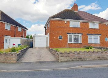 Thumbnail 3 bed semi-detached house for sale in Alexandra Crescent, West Bromwich, West Midlands