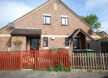 Thumbnail 1 bed end terrace house to rent in Coriander Drive, Thetford