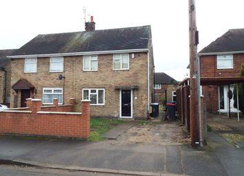 Thumbnail 2 bedroom semi-detached house for sale in Thorn Grove, Hucknall, Nottingham, Nottinghamshire