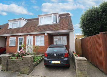 Thumbnail 2 bed semi-detached house for sale in Brunswick Avenue, London