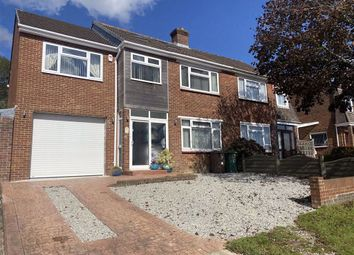 Thumbnail 3 bed semi-detached house for sale in Southwell Road, Crownhill, Plymouth