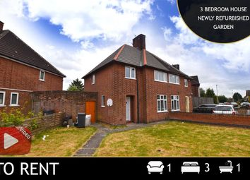 Thumbnail 3 bed semi-detached house to rent in New Fields Square, Leicester