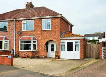 3 bed semi-detached house for sale in North Parade, Sleaford NG34