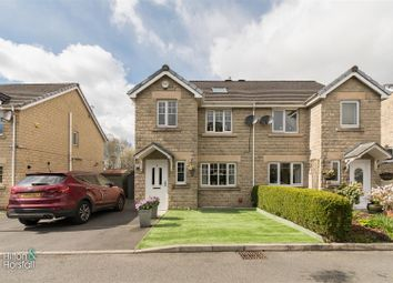 Thumbnail 4 bed semi-detached house for sale in St. Georges Close, Colne