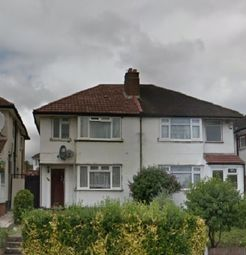 Thumbnail 4 bed semi-detached house to rent in Greenford Road, Greenford