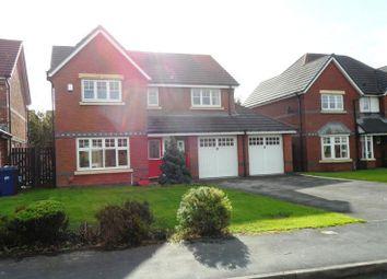 Thumbnail 4 bedroom detached house to rent in Bellis Way, Walton Park, Preston