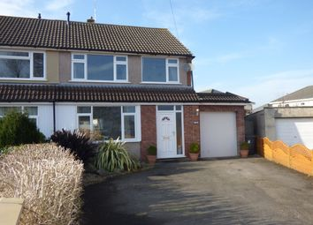 Thumbnail 4 bed semi-detached house for sale in Bradley Avenue, Winterbourne, Bristol