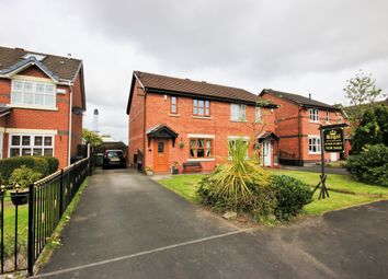 Thumbnail 3 bed semi-detached house for sale in Elvington Close, Wigan