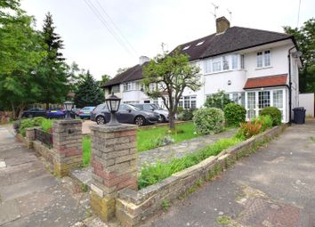 Thumbnail 4 bed semi-detached house to rent in Mill Ridge, Edgware, Middlesex