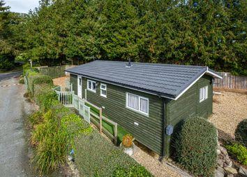 Thumbnail Mobile/park home for sale in Rhos Holiday Park, Crossgates, Llandrindod Wells