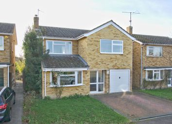Thumbnail 4 bed detached house for sale in St. Laurence Road, Foxton, Cambridge