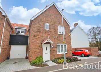 Thumbnail 3 bed link-detached house for sale in Elm Gardens, Mountnessing, Brentwood, Essex