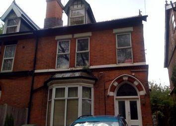 Thumbnail 1 bed flat to rent in Grove Lane, Handsworth, Birmingham