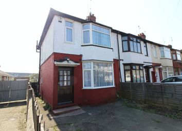 Thumbnail 3 bedroom end terrace house for sale in Waller Avenue, Luton