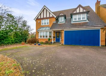 Thumbnail 4 bed detached house for sale in Keystone, Northampton